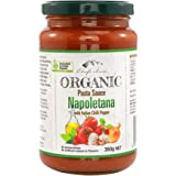 Chef's Choice Organic Napoletana with Italian Chilli Pepper Pasta Sauce, 350 g
