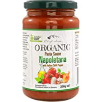 Chef's Choice Organic Napoletana with Italian Chilli Pepper Pasta Sauce 350 g