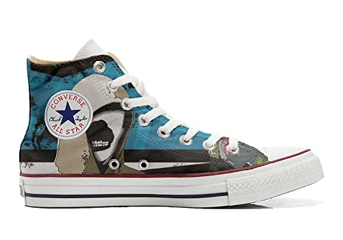 Converse Original CUSTOMIZED with printed Italian style (handmade shoes) with Graffiti