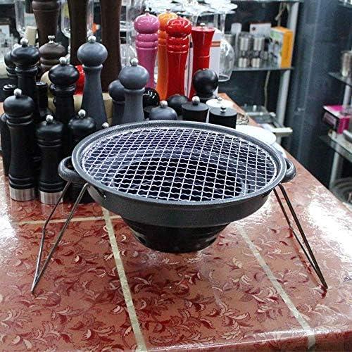 Yaju Barbecue,Barbecue en Plein Air Portable Famille Barbecue Au Charbon De Bois Portable Rassemblant Wild Barbecue Party