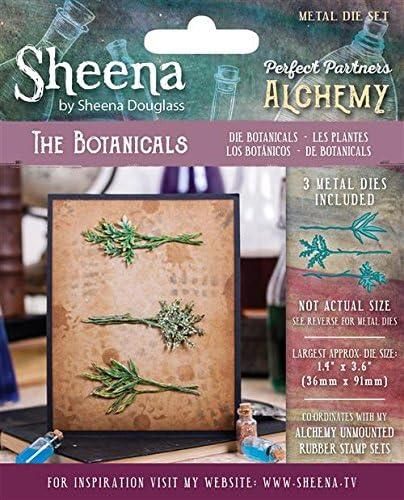 Sheena Douglass Alchemy Perfekte Partner Metall sterben, Metall, Silber, 14.5 x 12 x 0.4 cm
