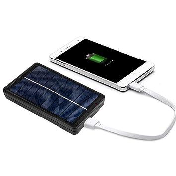 Vbestlife Panel Solar Placa al Aire Libre Ultraalta Cargador ...