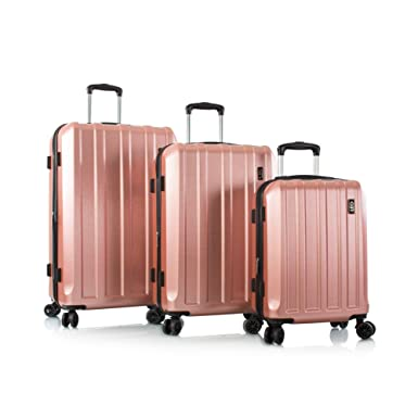 "b819f7fce Leo by Heys - Lexon Hard Side Spinner Luggage 3pc Set - 31"", 27"""
