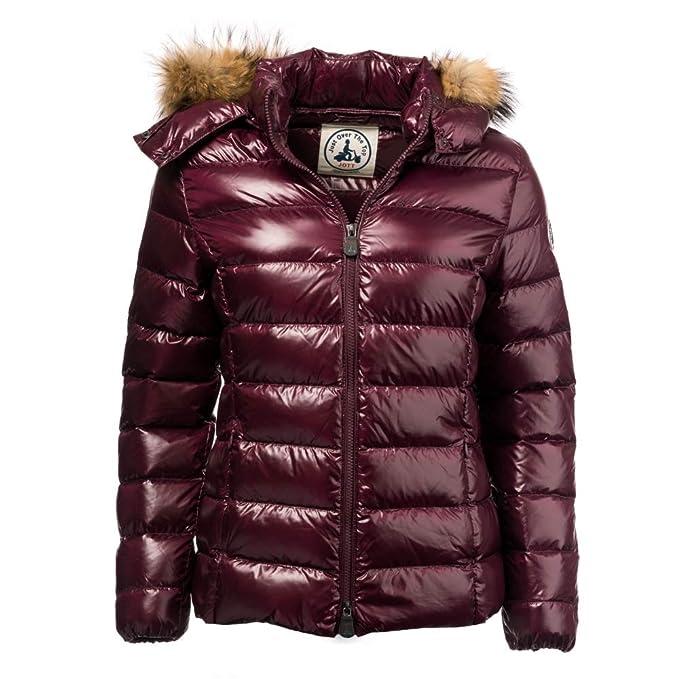 Jott Luxe ml Capuche Fourrure GF Women Jacket Aubergine S ...