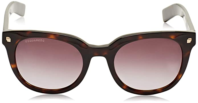 7c6486a0069 Amazon.com  Sunglasses DSquared2 DQ 0208 Hall 52K dark havana   gradient  roviex  Clothing