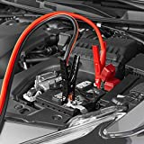 AmazonBasics Jumper Cable for Car Battery, 2 Gauge, 20 Foot