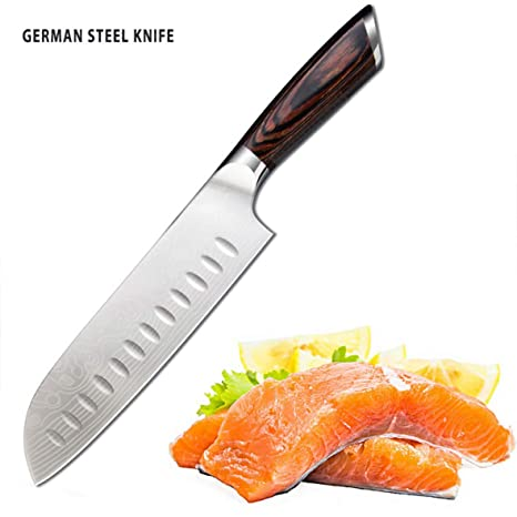 Compra CLASSESWORLD Cuchillo de cocina Pro de 7 pulgadas ...