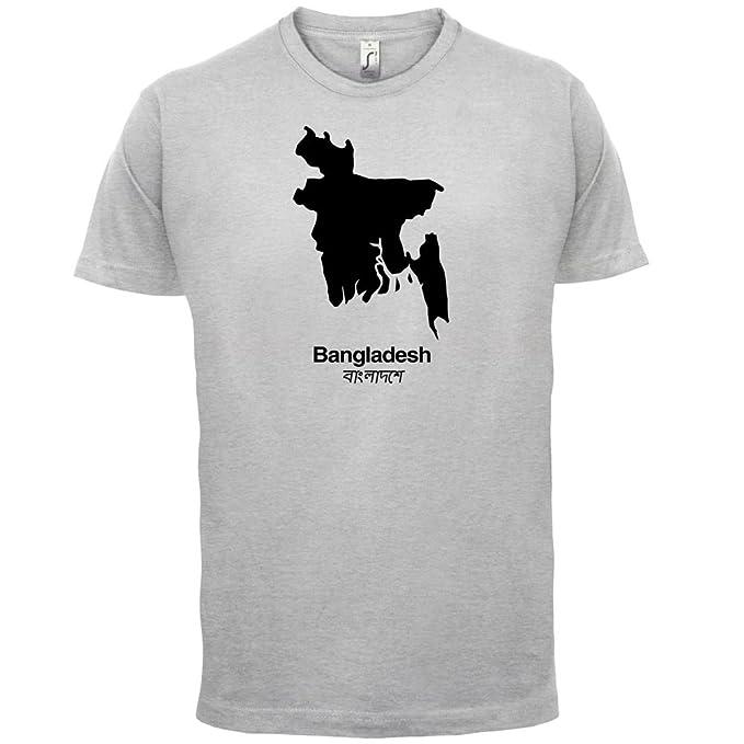 Bangladesh / Bangladesch Silhouette - Herren T-Shirt - 13 Farben:  Amazon.de: Bekleidung