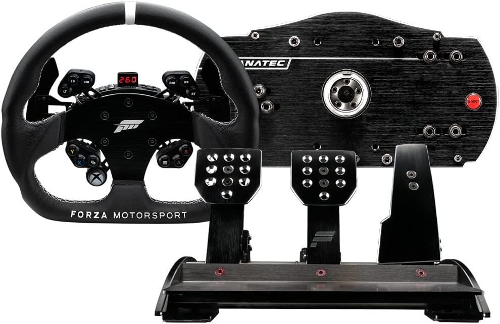 Amazon com: Fanatec Forza Motorsport Racing Wheel and Pedals
