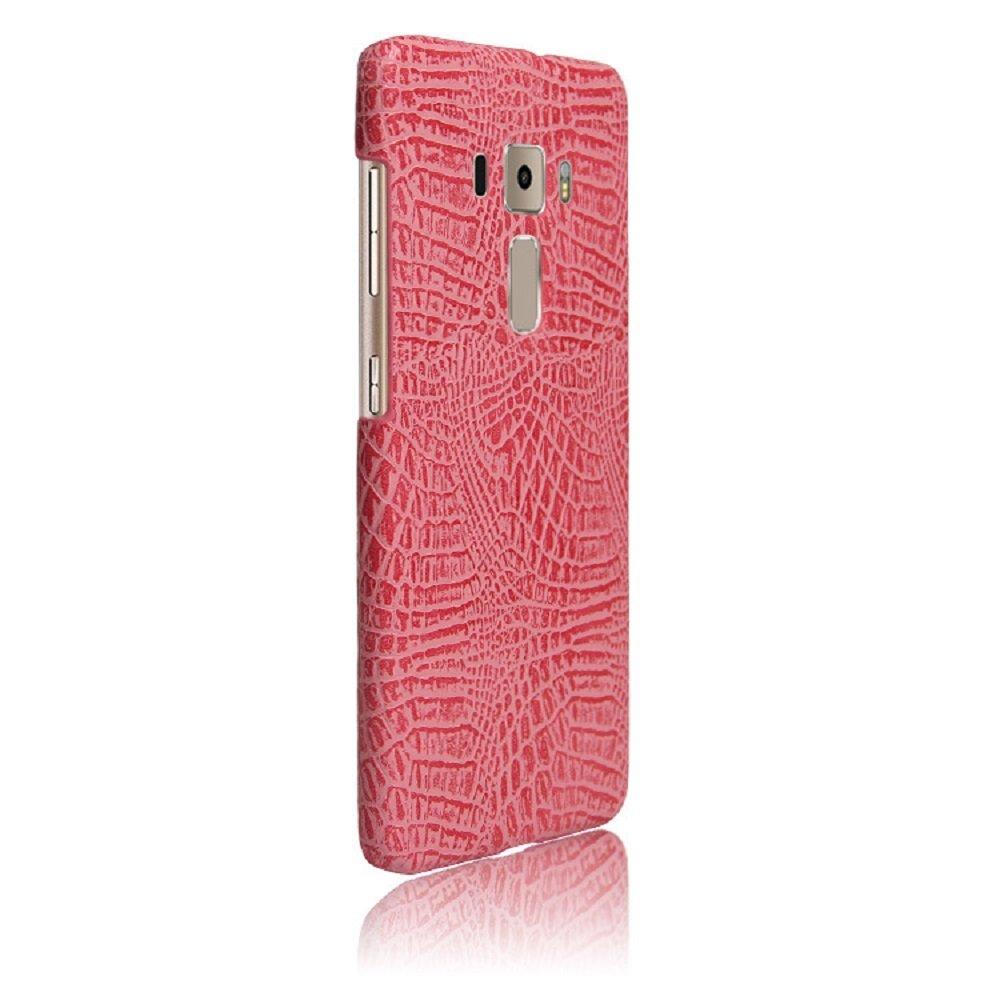 Apanphy ASUS Zenfone 3 Funda 5.2inch Rosa Textura de cuero PU de alta calidad Ultra Slim sensacion comoda para Carcasa ASUS Zenfone 3 ZE520KL