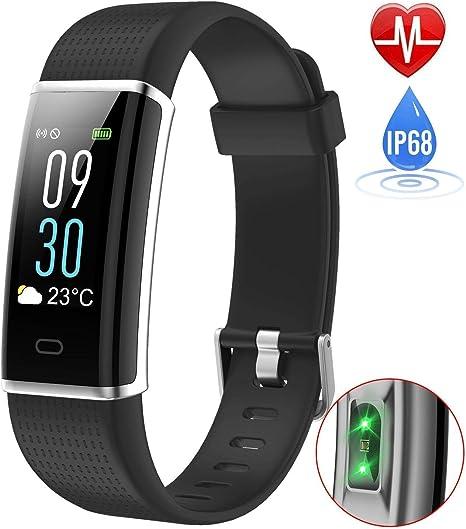 Willful Fitness Tracker Monitor de Calorías Pulsera Inteligente ...