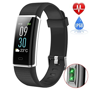 Willful Fitness Tracker Monitor de Calorías Pulsera Inteligente ...