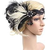 Anmain Fascia Per Capelli Stile Principessa Indiana Piume Di Pavone Fasce  Capelli Donna Sposa Headwrap Vintage 62c872fc25a0