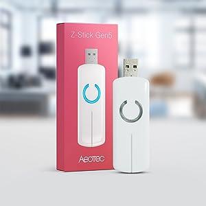 Aeotec Z-Stick Gen5, Z-Wave Plus USB to create gateway