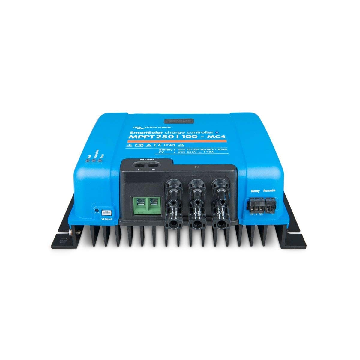 Victron SmartSolar MPPT 250//100 MC4 Solar Charge Controller 250V 100A with Bluetooth