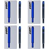 Lamy Fountain Pen Ink Cartridges, Blue Ink, Pack of 20 (LT10BLB)