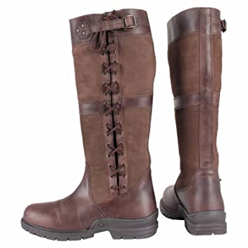 7c7585f425d Horka Midland Adults Waterproof Country Walking Horse Riding Winter Outdoor  Leather Boots Size 3-12