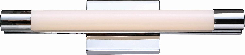 Kenroy Home 93204CH Tubo Vanities, Medium LED, Chrome