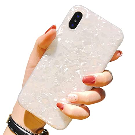 CXvwons Hülle iPhone XS MAX, Hülle Case iPhone X XS Bling Schutzhülle 3D Muster Kratzfest TPU Silikon Bumper iPhone XR Handyh