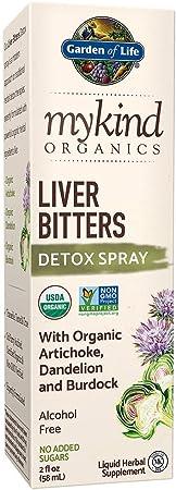 Garden of Life mykind Organics Liver Bitters Detox Spray