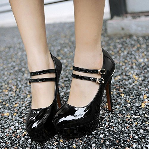 Platform Shoes Women Zanpa Classic Black Heels 1 6TwnSvpxFq