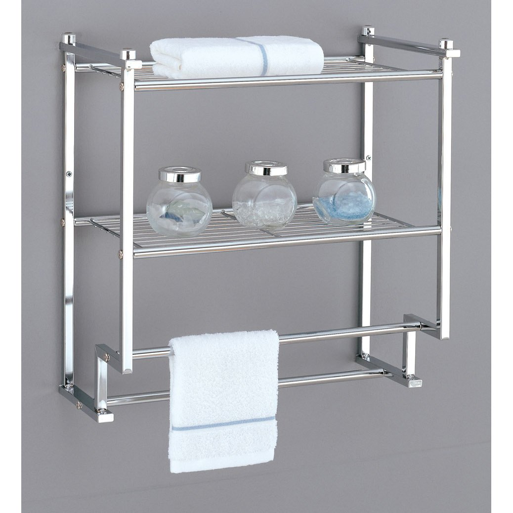 Bathroom Shelf Bathroom Shelves Amazoncom Kitchen Bath Fixtures Bathroom