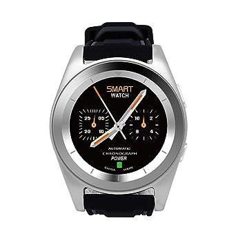 LLLS SmartWatch, Relojes Inteligentes para los Hombres para Las Mujeres, Gel de Silicona Correa MTK2502 Deporte Reloj Impermeable Bluetooth 4,0 Tracker ...