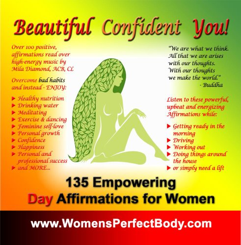 Beautiful Confident Empowering Affirmations Women product image