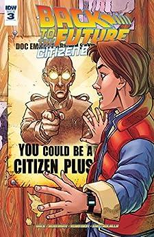 Back To The Future: Citizen Brown #3 (of 5) by [Gale, Bob, Burnham, Erik]