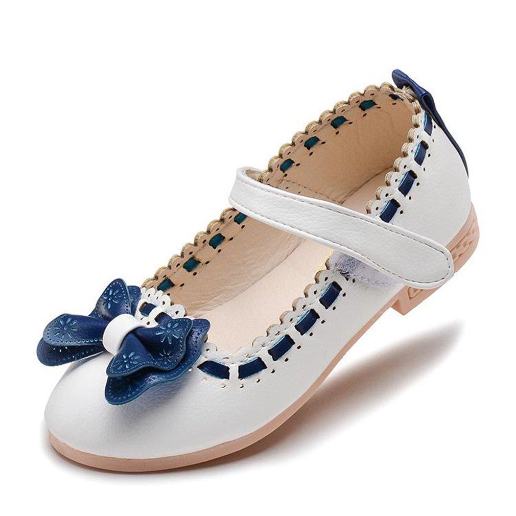 CYBLING Kids Dress Ballet Flats Girls Breathable Mary Jane Ballerina Princess Shoes