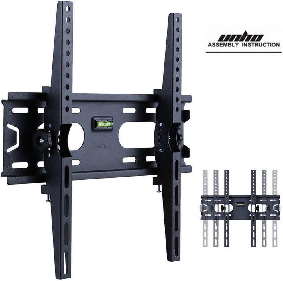 UNHO - Soporte de pared para televisores Sony Hisense Polaroid LCD Plasma de 26 a 55 pulgadas, capacidad de carga de 45 kg, VESA hasta 400 x 400 mm: Amazon.es: Electrónica