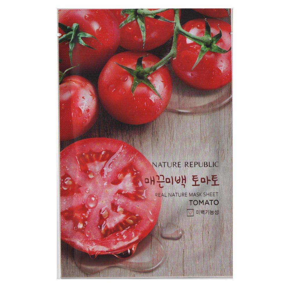 [Nature Republic] Real Nature Mask Sheet 10 PCS Korean Cosmetics (Tea Tree)