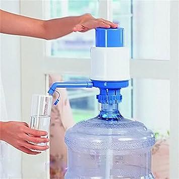 Dispensador manual para bidones, grifo con bomba de agua: Amazon.es: Jardín