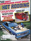 POPULAR HOT RODDING Super Comp Turbo Buick 1933 Ford Victoria Ricky Smith 8 1985