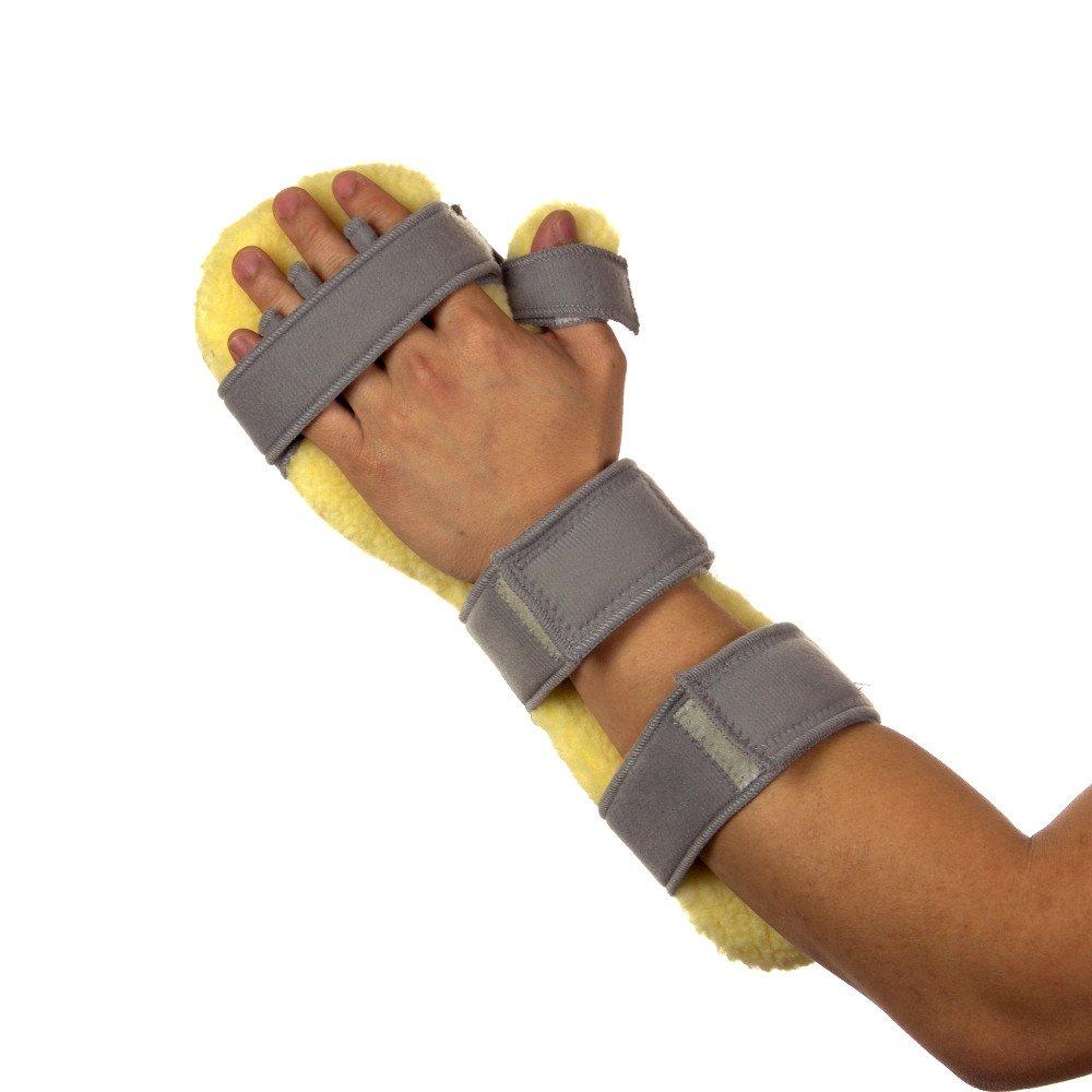 Centron Foam Rest & Sleep Stroke Hand Positioning Brace and Wrist Splint - Left Side WRS06AGL (Kid/Petite Size X-Small)