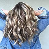 Bleaching Hair Mixed With Conditioner - Moresoo 24 Inch Seamless Tape in Hair Extensions Color 9A Brown Mixed with #60 Blonde Skin Weft Remy Human Hair Extensions 20PCS 50G Per Package Double Sided Tape in Extensions