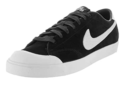 another chance 91fb9 2864e Nike Mens Zoom All Court Ck Qs Skate Shoe Black White 12 D(M