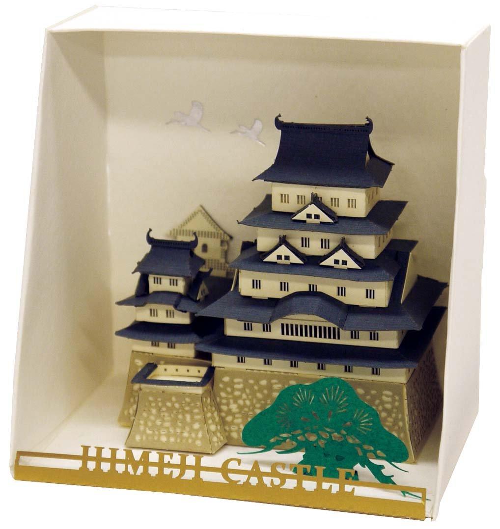 Nanoblock Paper Nano - Himeji Castle Model Kit