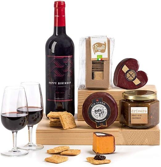 Birthday Red wine, cheese, chutney