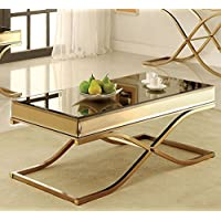 247SHOPATHOME Idf-4230C Coffee-Tables, Bronze