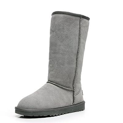 Shenn Women's Classic Tall Winter Warmers Snow Boots