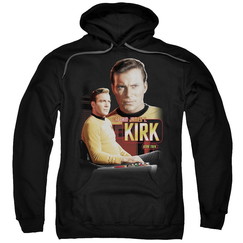 Star Trek Next generation tv-serie captain kirk hoodie für Herren