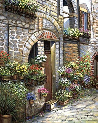 (Flower Pots at Spello by Sambataro 31