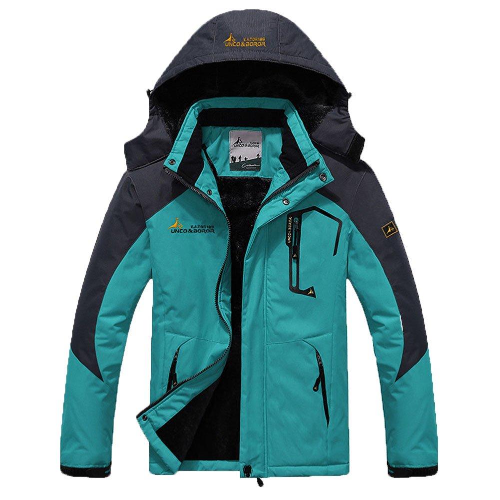 AooToo Men's Jacket Ski Waterproof Mountain Fleece Rainproof S-2XL 20170914001000