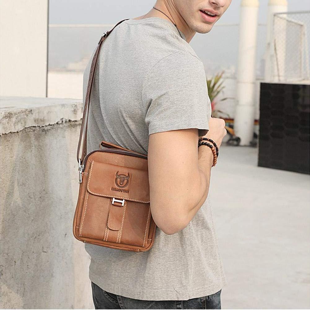 Uni bolsa de hombro de alta calidad para trabajo Super Modern piel Messenger Bag bolso Leap de G Bandolera Hombre deportes viaje