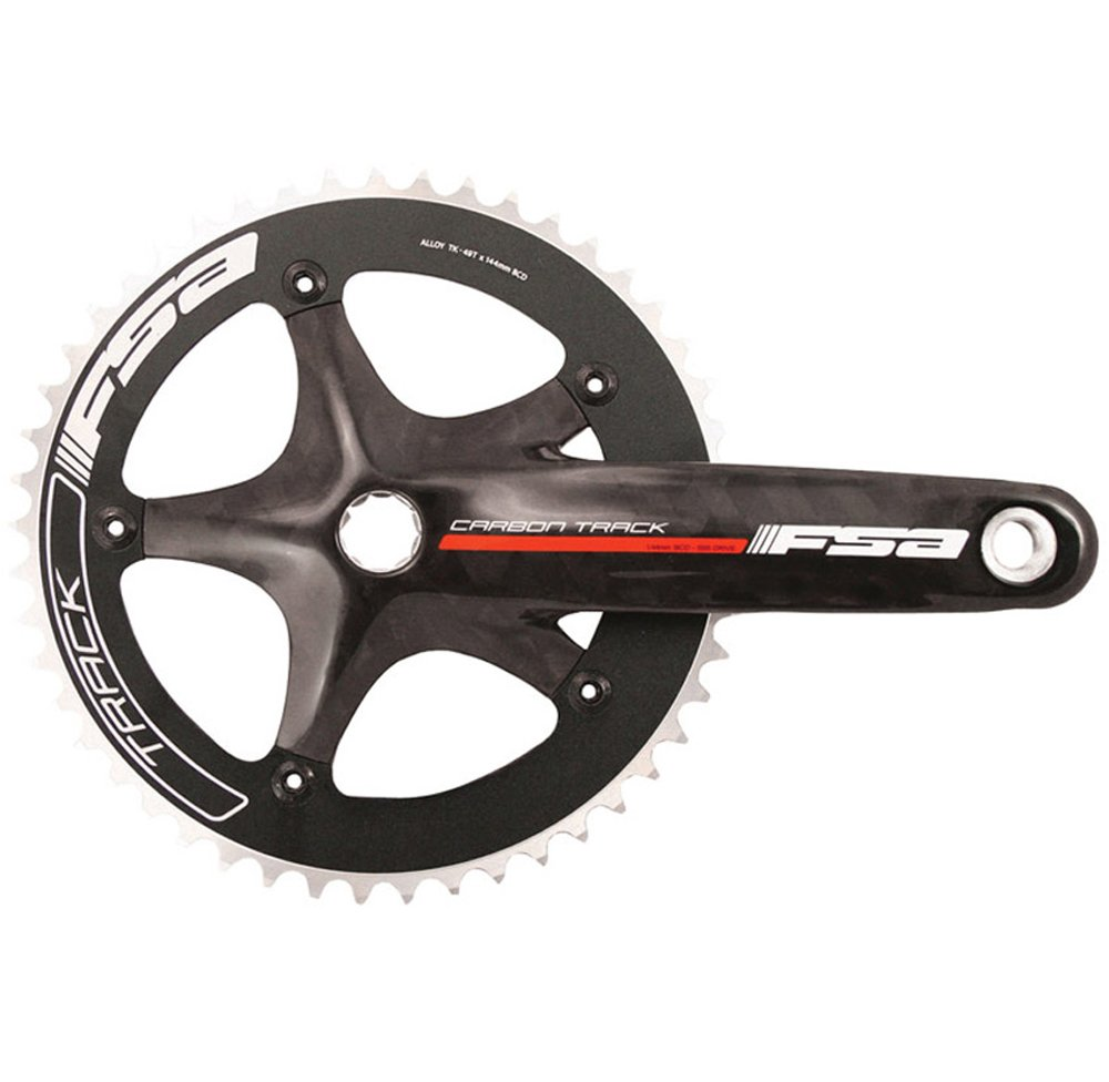 Fsa Carbon Track Bicycle Crankset Bike Cranksets