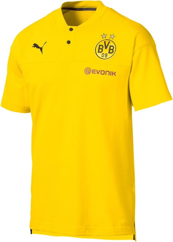 PUMA BVB Casuals Polo with Evonik Logo Camiseta Polo Hombre