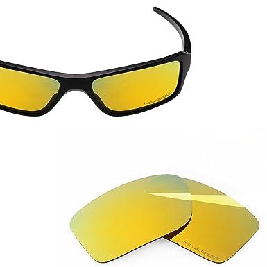 7986f2e104 BlazerBuck Anti-salt Polarized Replacement Lenses for Oakley Double Edge -  24K Gold