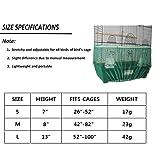 Bonaweite Mesh Bird Seed Catcher, Birds Cage Net