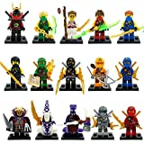 BTZ Toys, Ninjago Minifigures Lot of 15